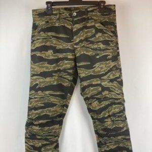 G-STAR RAW 5622 3D TAPERED TIGER CAMOUFLAGE